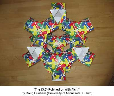 The {3,8} Polyhedron with Fish