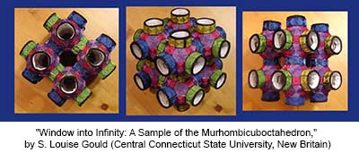 Window into Infinity: A Sample of the Murhombicuboctahedron