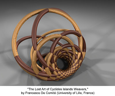 The Lost Art of Cyclides Islands Weavers