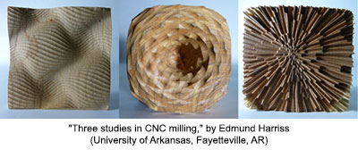 Three studies in CNC milling
