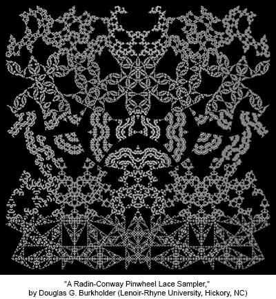 A Radin-Conway Pinwheel Lace Sampler