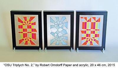 OSU Triptych No. 2