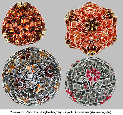 Series of Rhombic Polyhedra