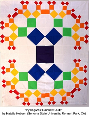 Pythagoras' Rainbow Quilt