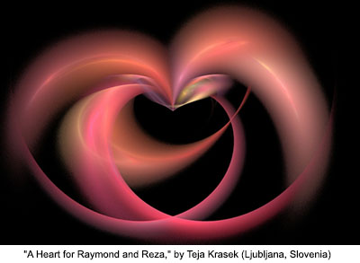 A Heart for Raymond and Reza