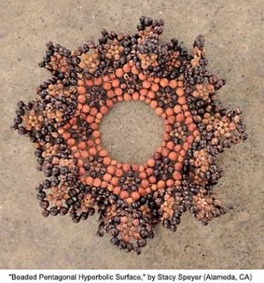 Beaded Pentagonal Hyperbolic Surface
