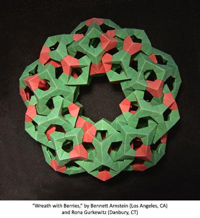 Wreath with Berries by Arnstein and Gurkewitz