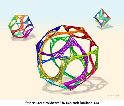 String Circuit Polyhedra by Dan Bach