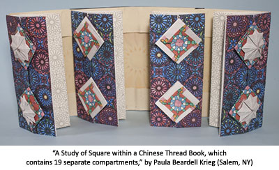 A Study of Square within a Chinese Thread Book by Paula Beardell Krieg