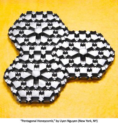 Pentagonal Honeycomb by Uyen Nguyen