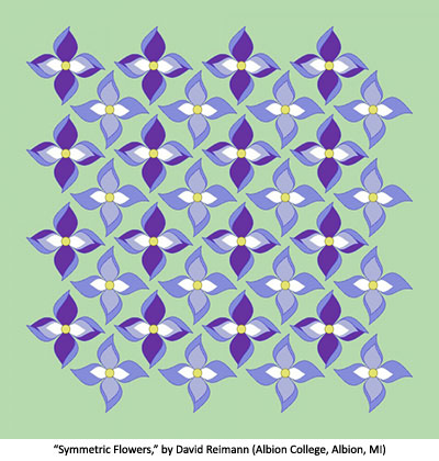 Symmetric Flowers by David Reimann