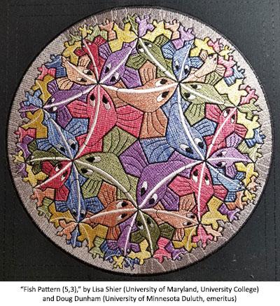 Fish Pattern (5,3) by Lisa Shier and Doug Dunham