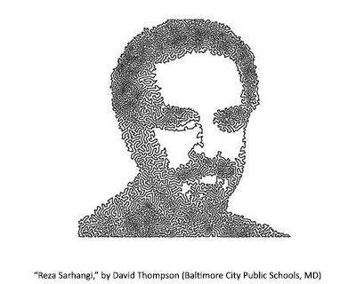 Reza Sarhangi by David Thompson
