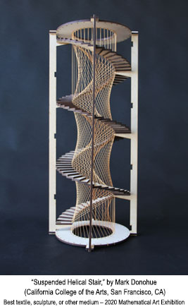Suspended Helical Stair