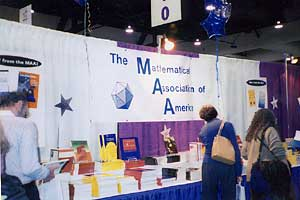 The MAA exhibit area