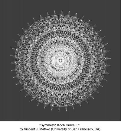 Symmetric Koch Curve II