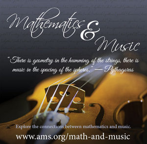 Math and music poster