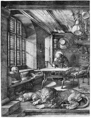 Durer's St. Jerome in His Study