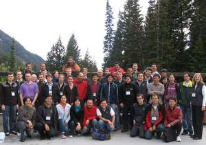 Participants in MRC at Snowbird, 2009