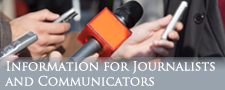 Information for Journalists and Communicators