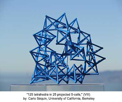 125 tetrahedra in 25 projected 5-cells (VIII)