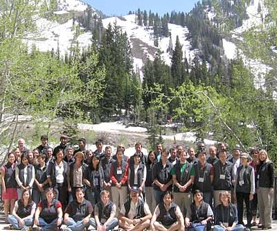 Participants in the first MRC at Snowbird, June 2008