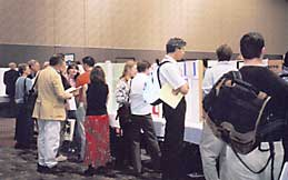 At the Undergraduate Student Poster Session