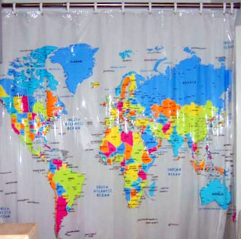 Hutchinson's shower curtain