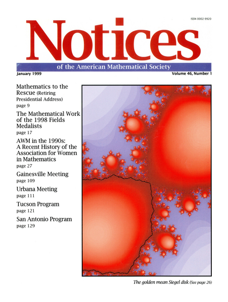 AMS :: Notices Of The American Mathematical Society