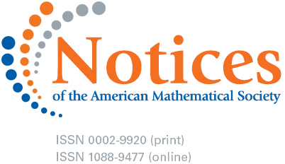 Logo of the AMS Notices
