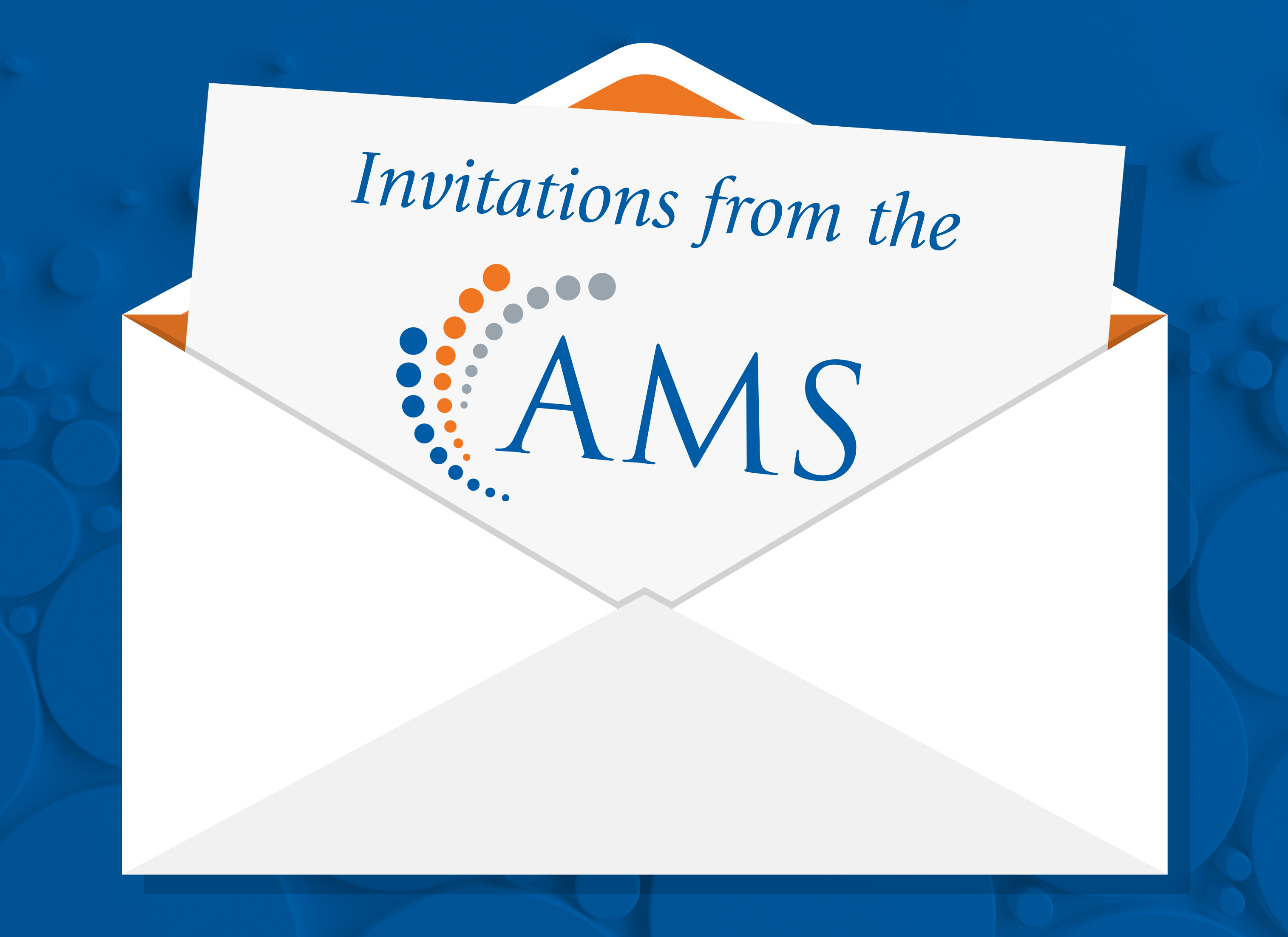 Invitations from the AMS