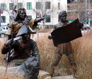 Lewis and Clark statues